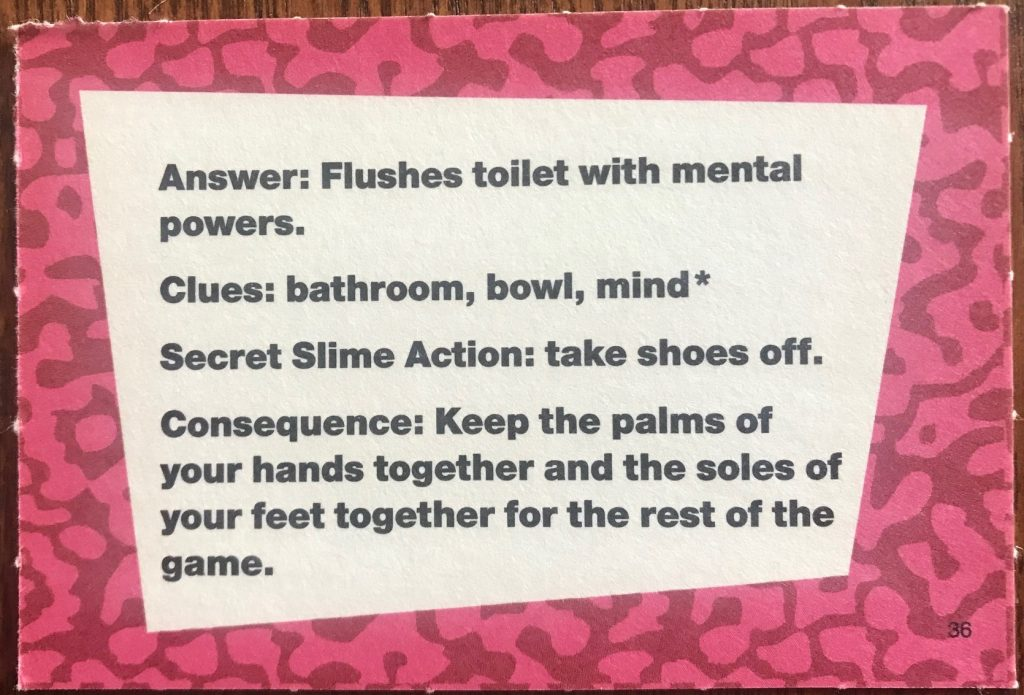 "Talent is ""Flushes toilet with mental powers"""