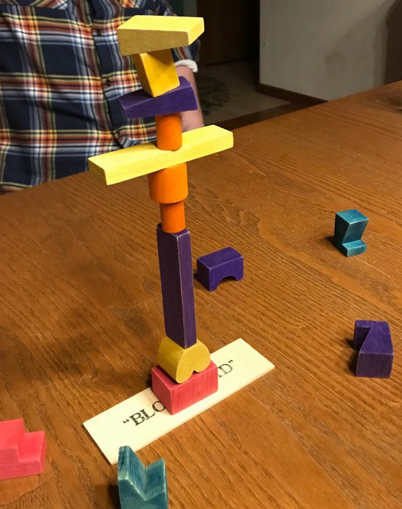 Early structure is very tall, but very simple