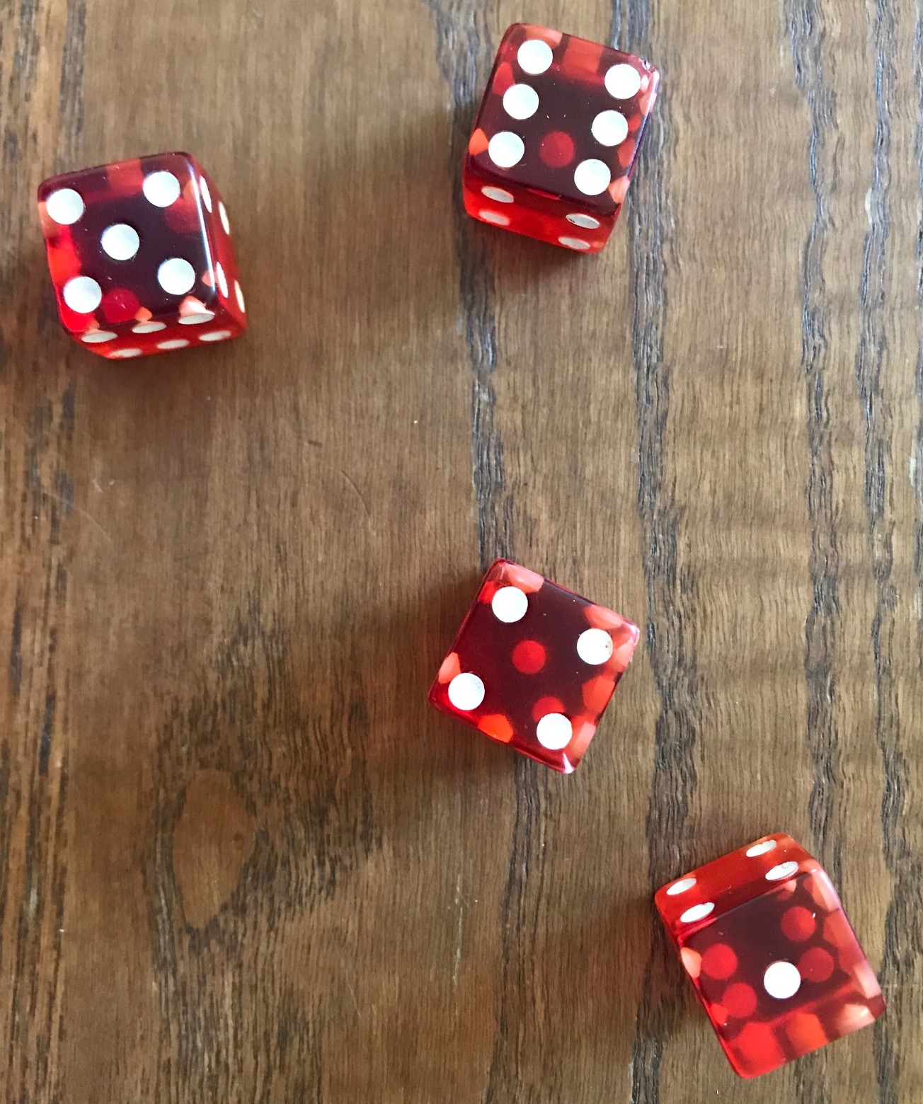 Example dice roll: 5 6 4 1 so can be 11/5, 10/6, 7/9