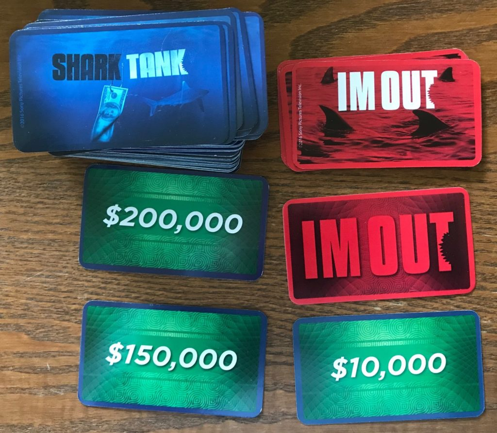 I'm out and money cards